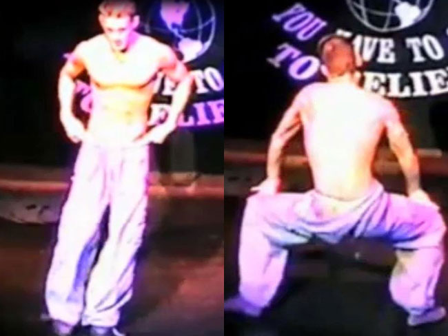 Watch: Channing's stripper days