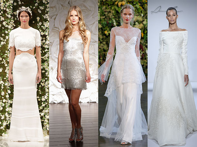 9 trends from New York Bridal Fashion week you'll love