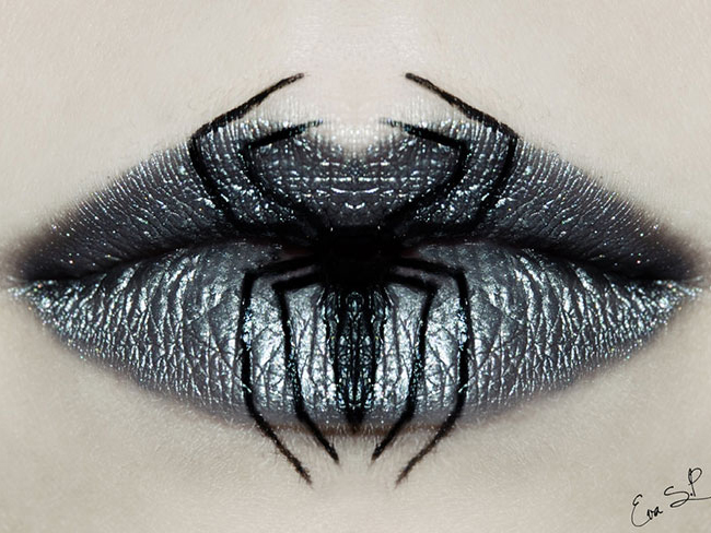 You have to see these fantastically creepy Halloween lips