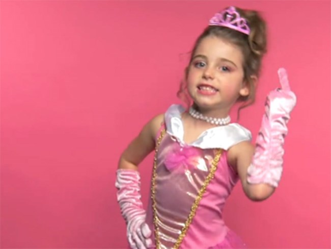 Princess F-bombs feminism