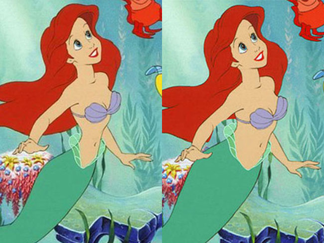 Disney princesses reimagined with realistic waistlines