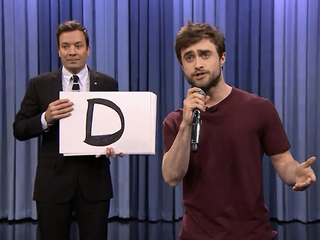 Daniel Radcliffe is a wizard at rapping
