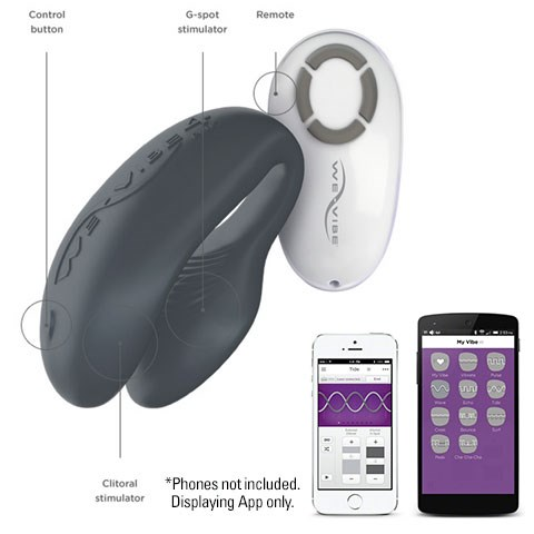 "[We-Vibe 4 Plus](http://www.adultshop.com.au/vibrators/g-spot-vibrators/we-vibe-4-asc.html|target=""_blank"") ""Takes couples to new heights on intimate pleasure, teasing and pleasing your partner from anywhere you want!"" $199.95"