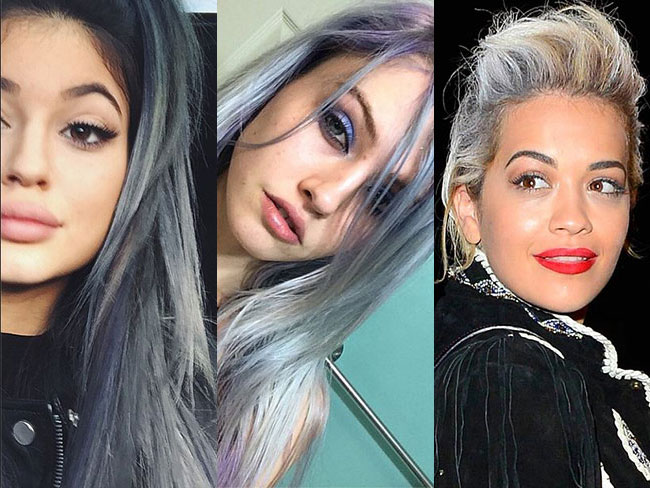 Celebs going grey