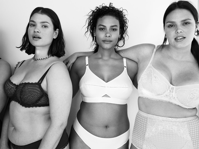 Vogue publishes 'lingerie for all shapes and sizes' shoot