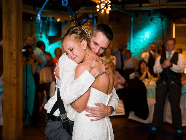 The way this paralysed veteran surprised his bride will fill you with joy