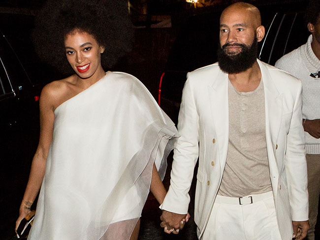 Solange marries long time love in front of Beyoncé and everyone