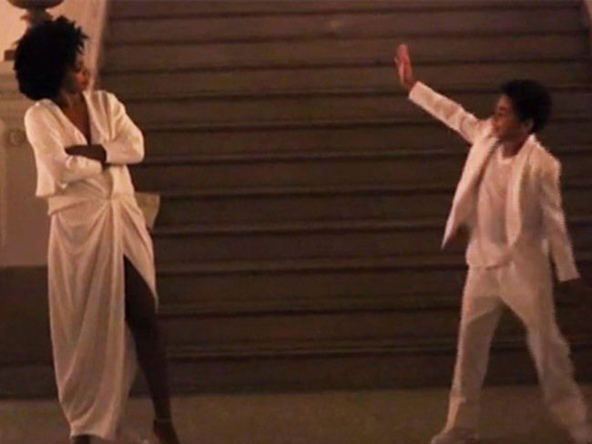 Solange and her son dancing at her wedding is EVERYTHING