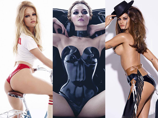 More NSFW pics from the Pirelli calendar