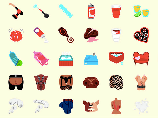 There are now NSFW emojis for all your sexting needs