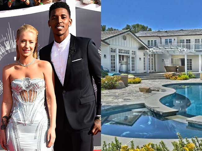 Iggy just bought this insane house from Selena Gomez