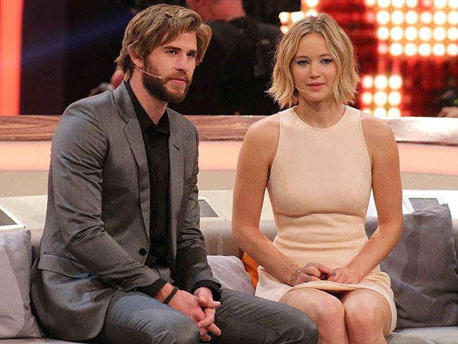 Jennifer Lawrence gushes about Liam Hemsworth