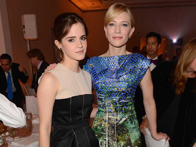 "Cate Blanchett: ""I'm so f***ing proud of Emma Watson"""