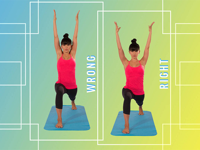 4 common yoga poses you're doing wrong