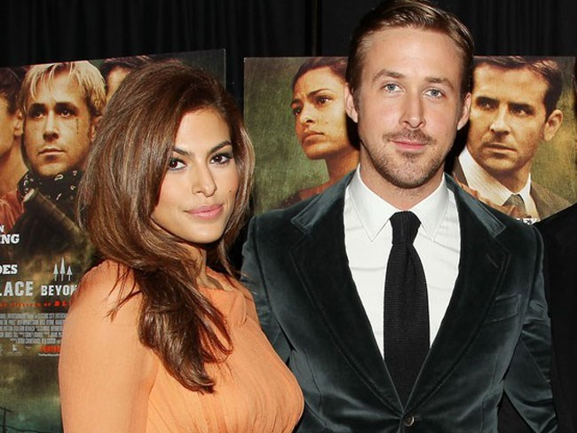 Eva Mendes talks parenting with RGos for the first time