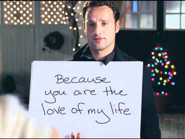 Honest Love Actually trailer