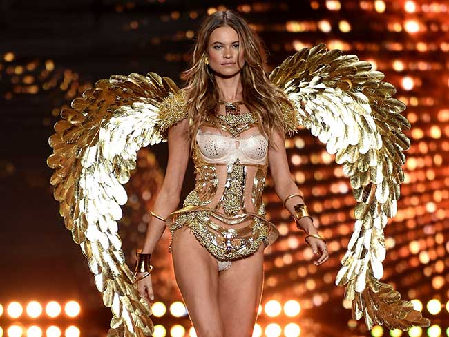 All the action from the 2014 Victoria's Secret Fashion Show