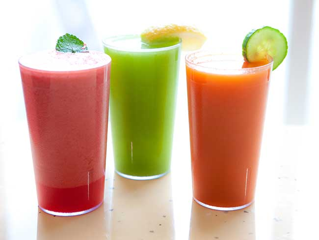 Which juice is best to drink when