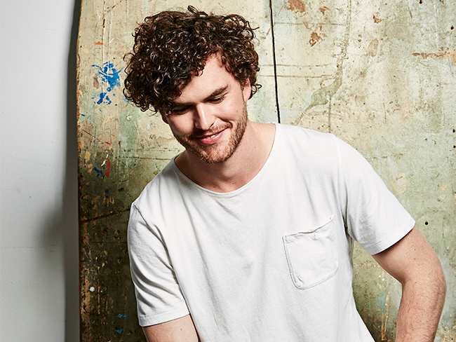 VIDEO: Behind the scenes with Vance Joy