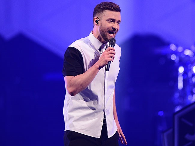 A little boy made Justin Timberlake cry on stage