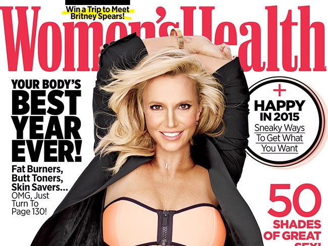BTS vid shows Britney's bod looks just like her Women's Health cover