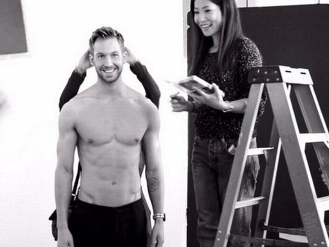 Calvin Harris for Armani