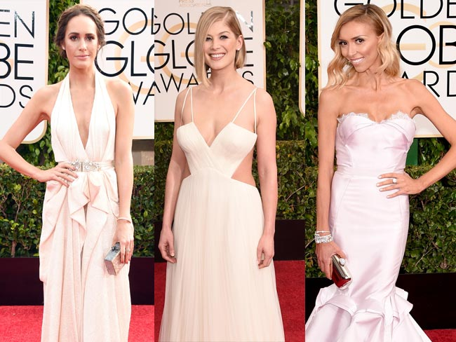 Carpet watch: Golden Globes 2015