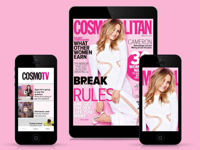 Want a free Digital copy of Cosmo?