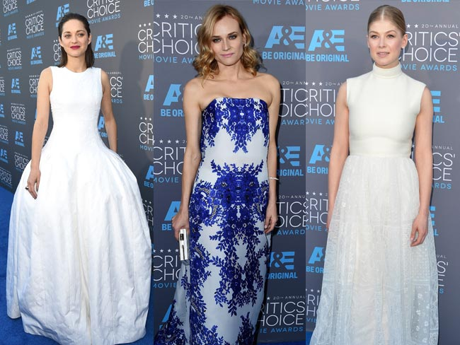 All the looks from the Critics' Choice Awards 2015