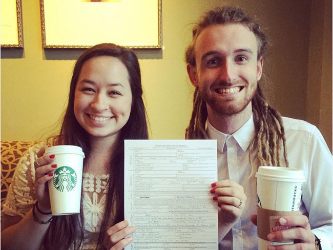 Starbucks weddings are now a thing