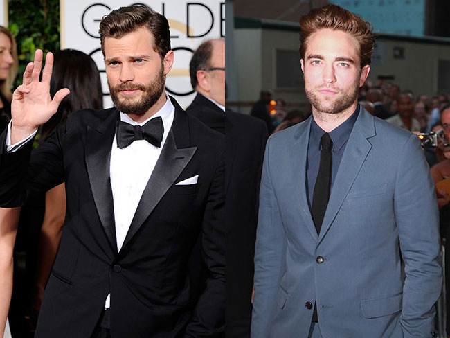 Robert Pattinson and Jamie Dornan are booze buddies