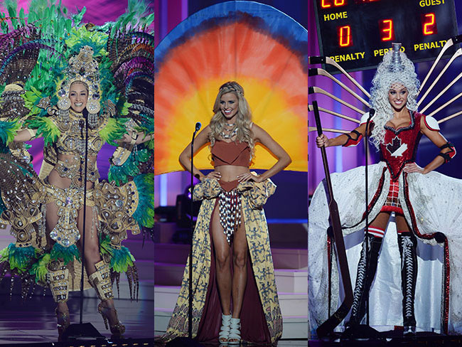 The wackiest national costumes from the Miss Universe competition
