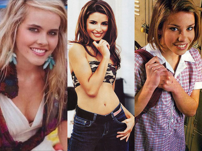 All the chicks you crushed on from Aussie soaps