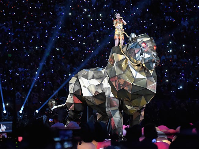 14 photos that sum up the amazingness of Katy Perry's Super Bowl show