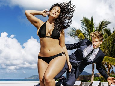 Ashley Graham is the first 'plus size' model in Sports Illustrated