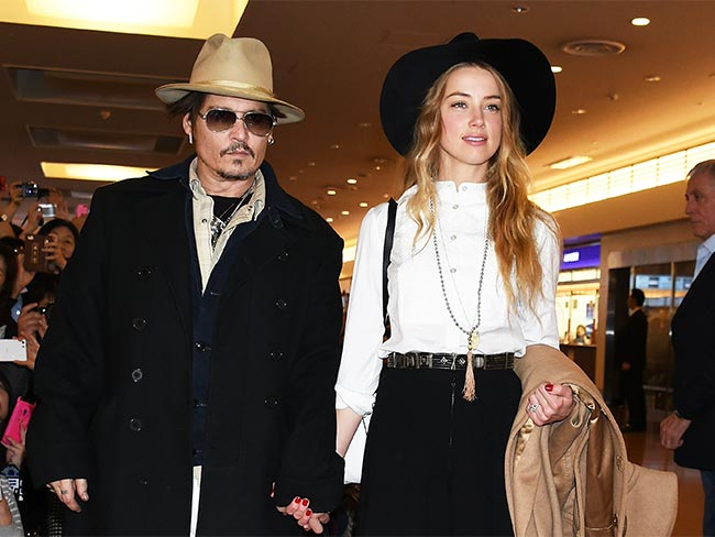 Johnny Depp and Amber Heard got hitched