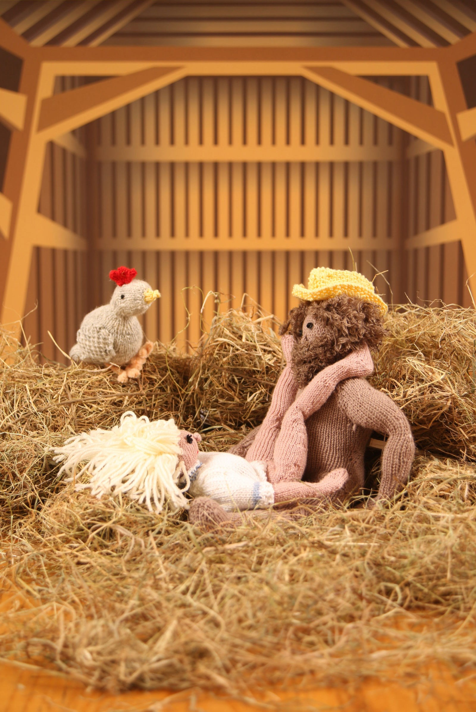 UK knitter Geraldine Warner (pen name Trixie Von Purl) has spent five months of her life creating knitted versions of the Kama Sutra and, as you can see, it's everything we hoped it would be, and then some.