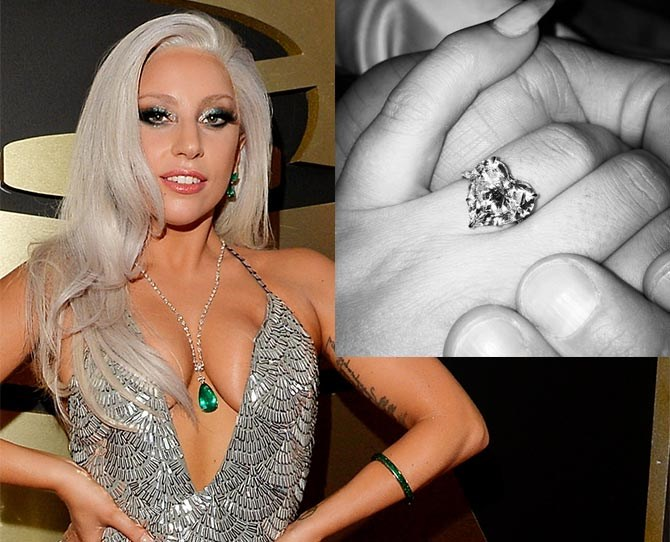 """It seems Lady Gaga's hot AF boyfriend, Taylor Kinney put a ring on it this Valentine's Day. A big, sparkly, heart-shaped ring, to be precise. Gaga share a picture of her new bling on Instagram with the caption, """"He gave me his heart on Valentine's Day, and I said YES!"""" CUTE. The paid have been dating since 2011, when Taylor starred in her *You and I* music video. He now stars in *Chicago Fire,* and she's still Gaga."""