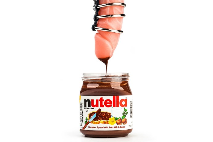 What's so dirty about dipping your finger into Nutella? I do that all the time! Oh, wait...