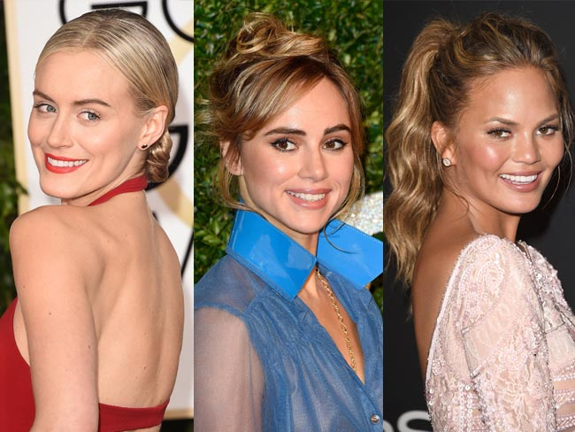 24 outrageously pretty celebrity updos