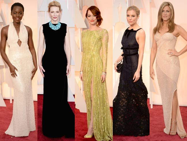 Oscars 2015 red carpet: all the dresses as they happen