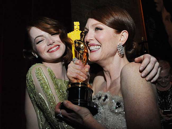 20 amazing Oscars moments you didn't see on TV