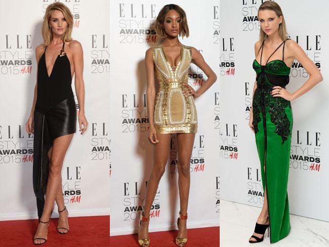 What celebs wore to the Elle Style Awards
