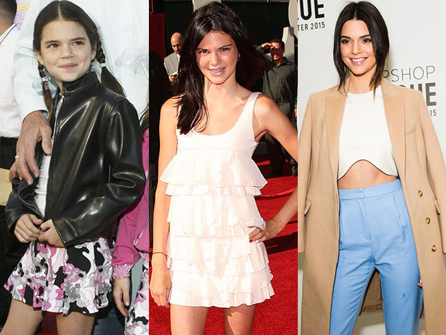 Kendall Jenner's style transformation