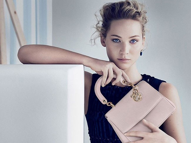 Jennifer Lawrence's new Dior campaign is seriously hot stuff