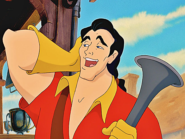 Is this the guy that will play Emma Watson's Gaston?