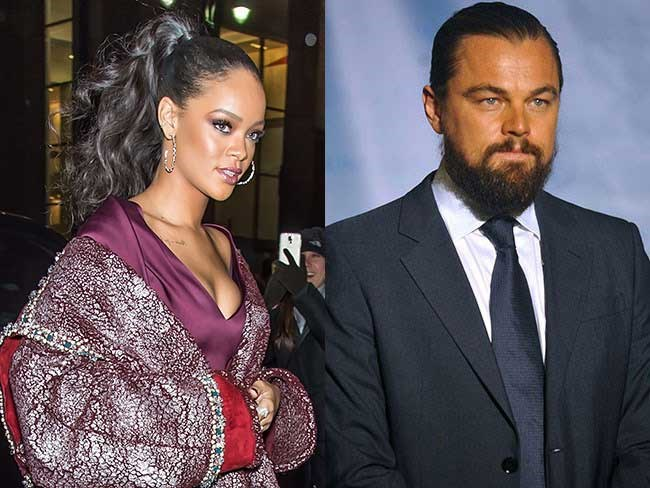 Leonardo DiCaprio has addressed those Rihanna dating rumours