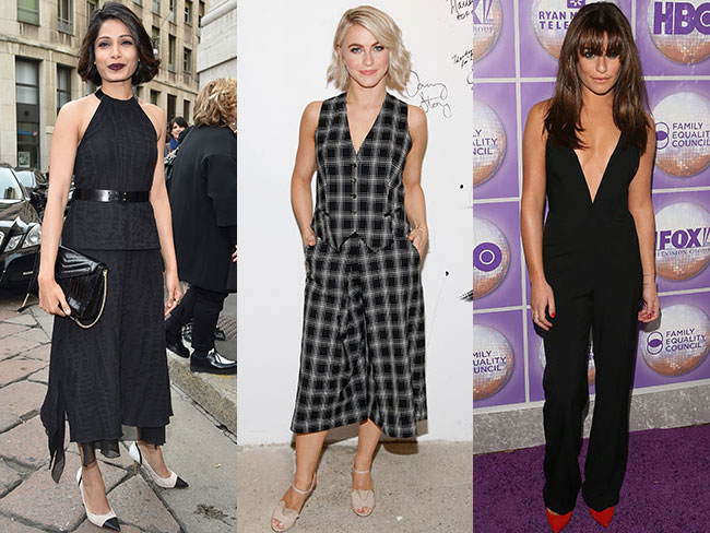 Celebs wearing things in March