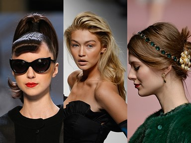 All of the prettiest hair styles from Fashion Week