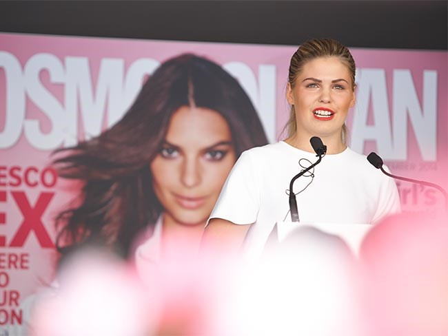 Belle Gibson Cosmo